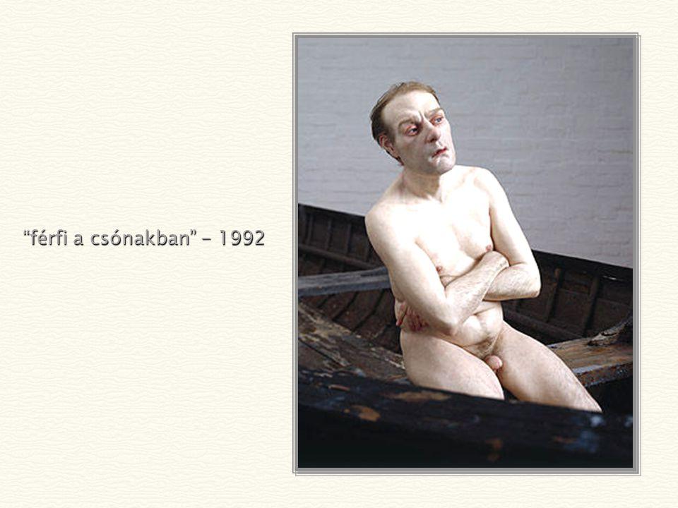 férfi a csónakban - 1992