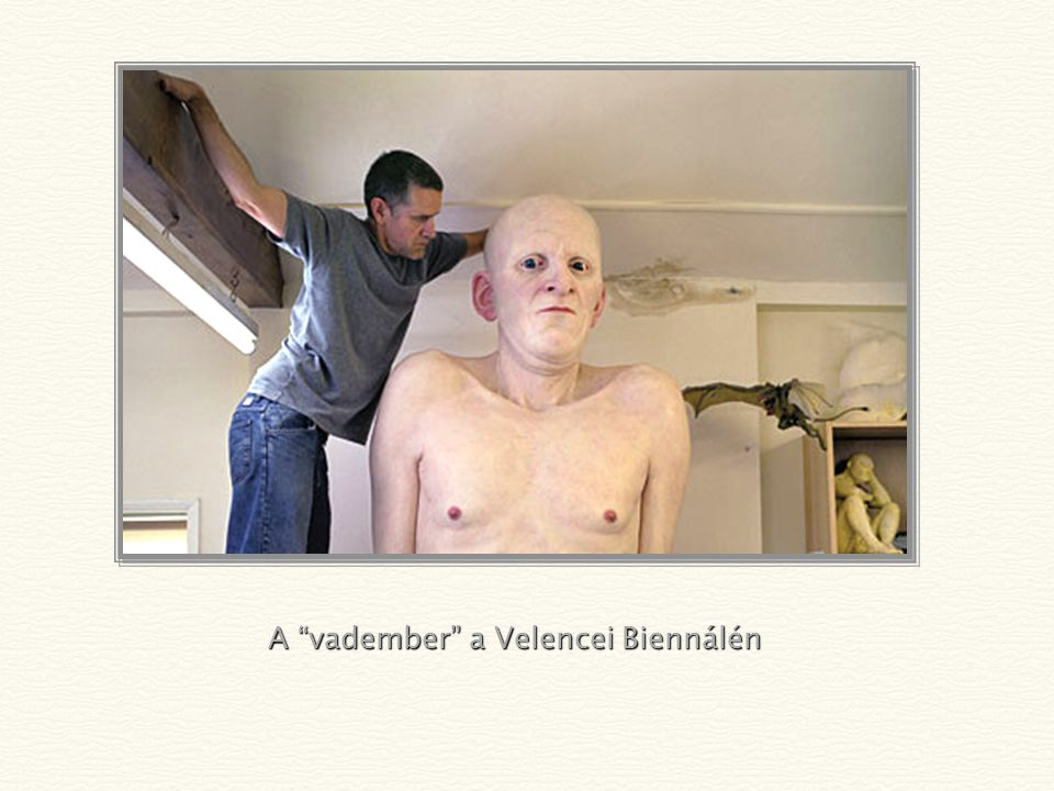 A vadember a Velencei Biennálén