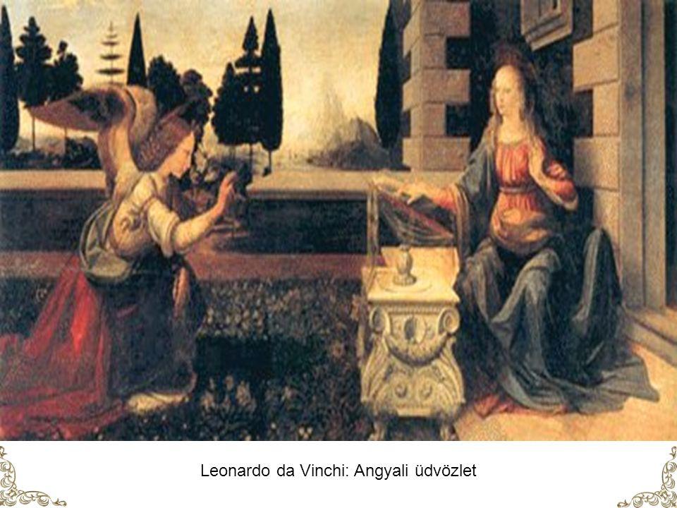 Leonardo da Vinchi: Angyali üdvözlet