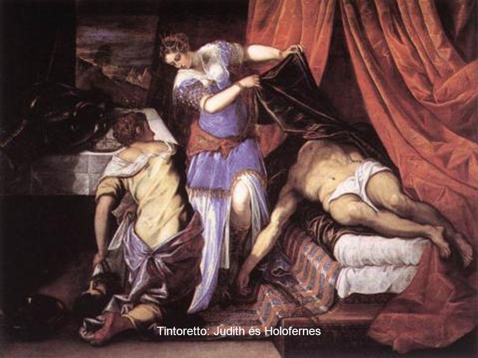 Tintoretto: Judith és Holofernes