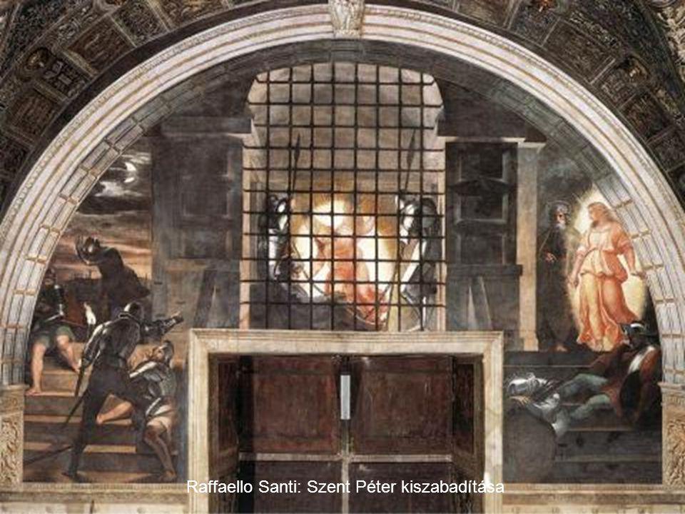 Raffaello Santi: Szent Péter kiszabadítása