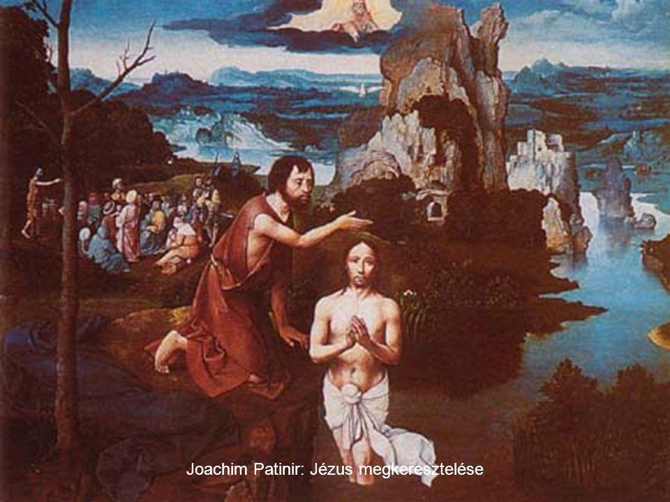 Joachim Patinir: Jézus megkeresztelése