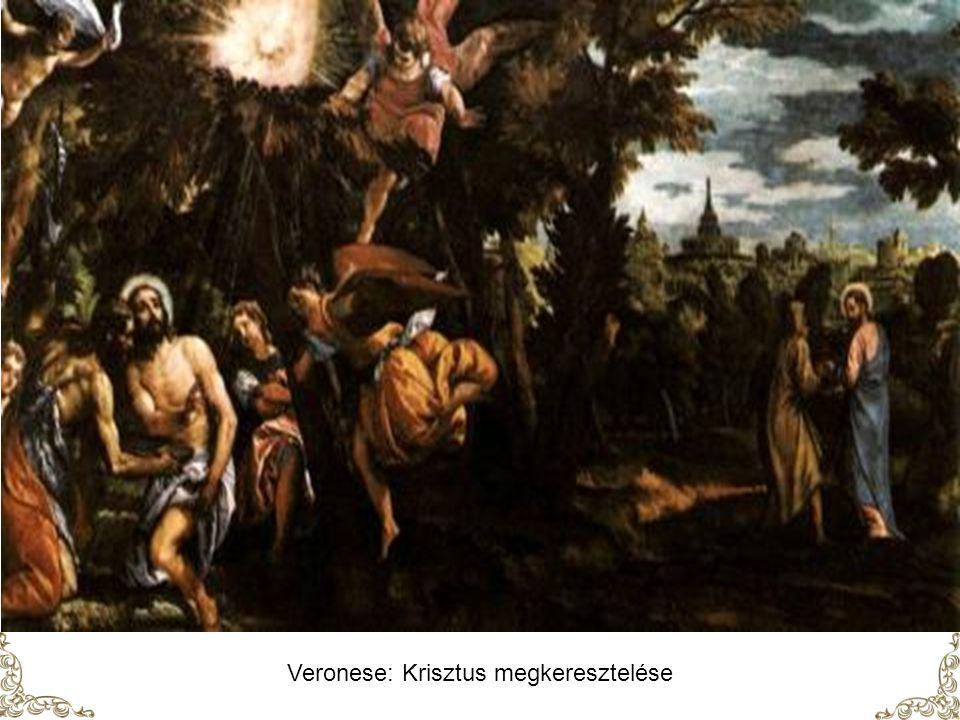 Veronese: Krisztus megkeresztelése