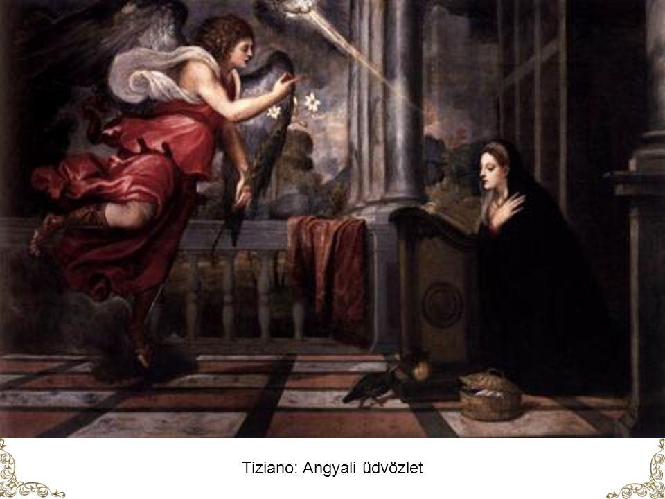 Tiziano: Angyali üdvözlet