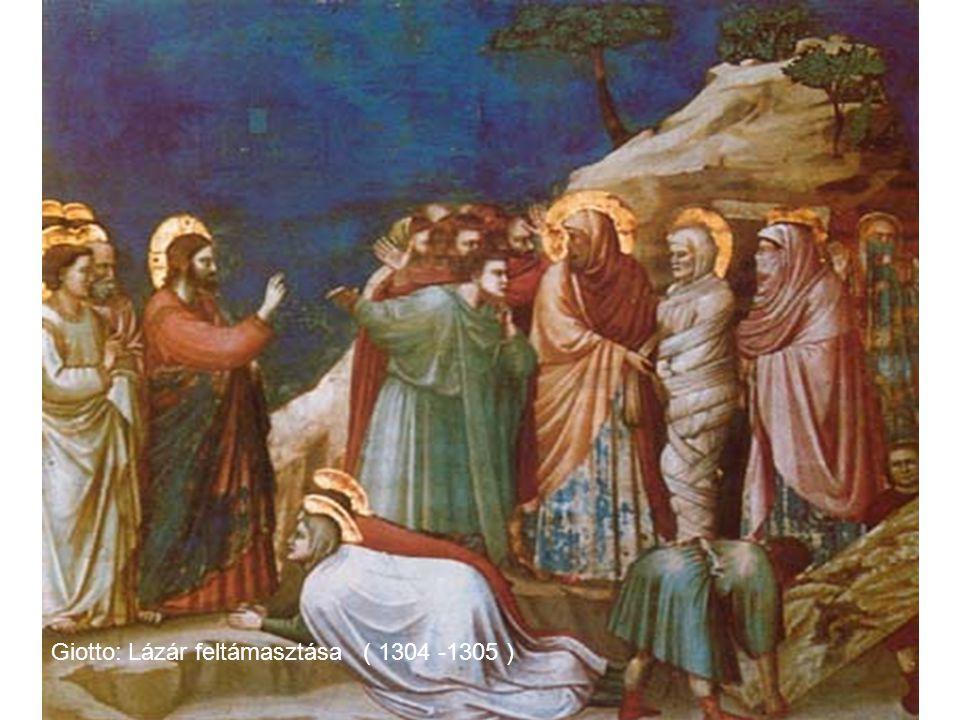 Giotto: Lázár feltámasztása ( 1304 -1305 )
