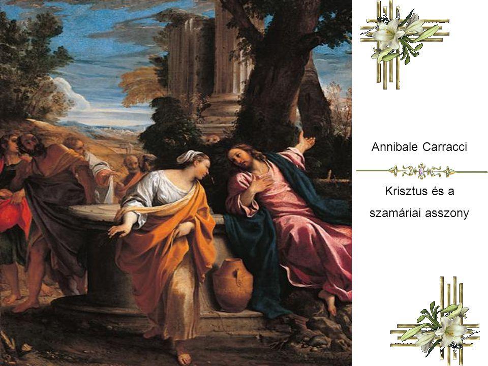 Annibale Carracci Krisztus és a szamáriai asszony