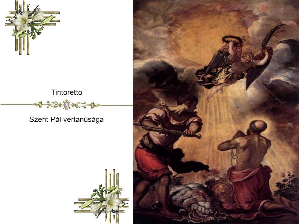 Tintoretto Szent Pál vértanúsága