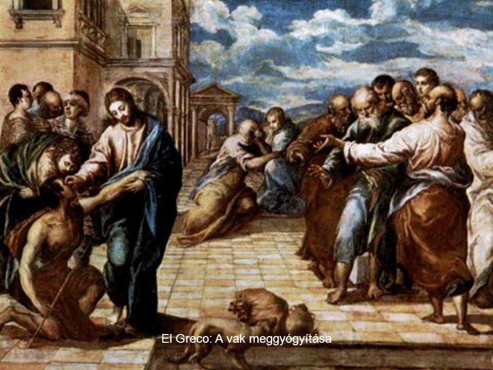 El Greco: A vak meggyógyítása