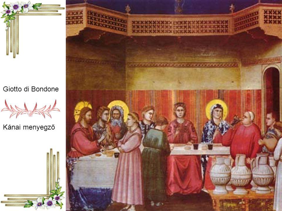 Giotto di Bondone Kánai menyegző
