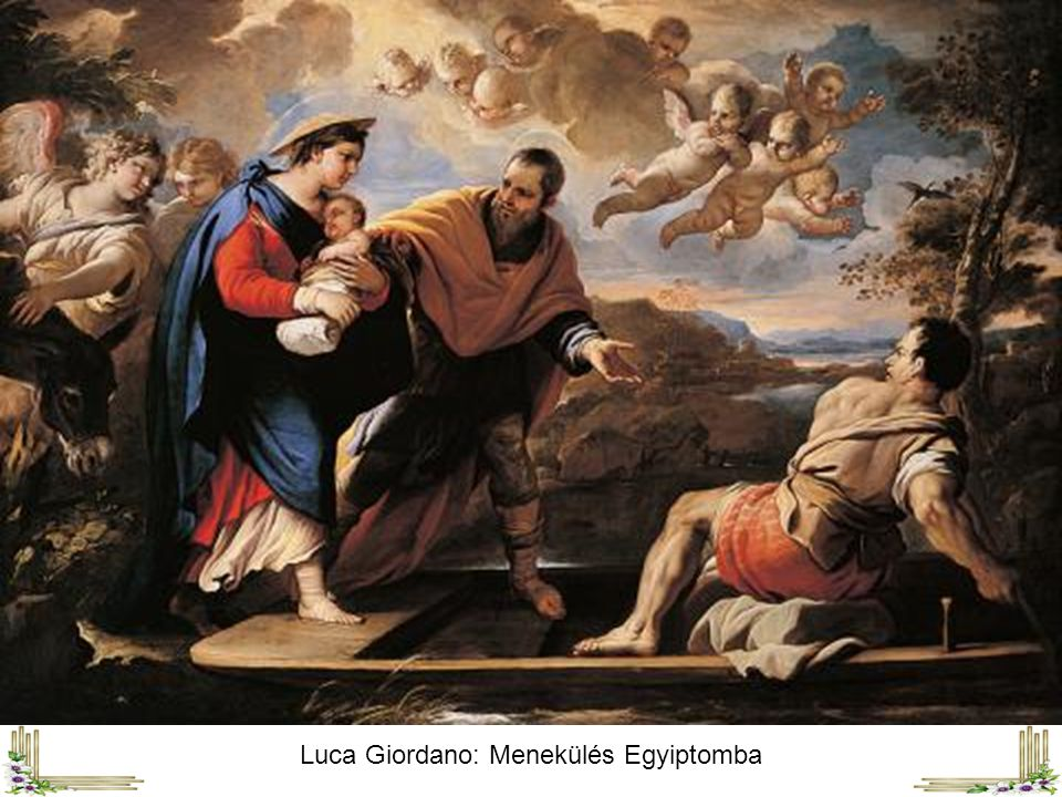 Luca Giordano: Menekülés Egyiptomba