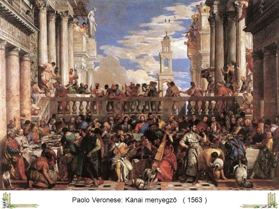 Paolo Veronese: Kánai menyegző ( 1563 )