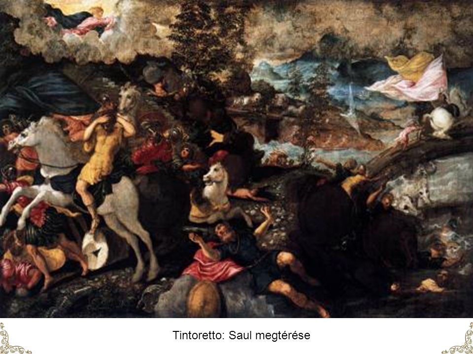 Tintoretto: Saul megtérése