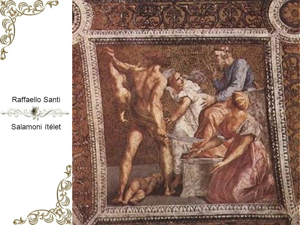 Raffaello Santi Salamoni ítélet