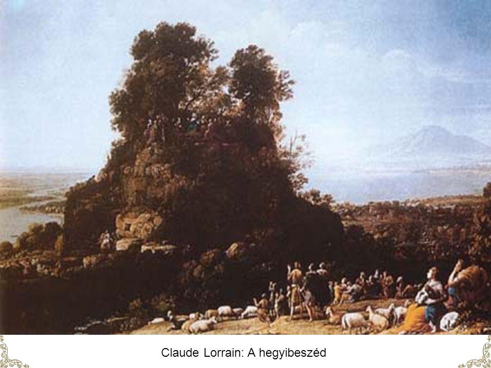Claude Lorrain: A hegyibeszéd