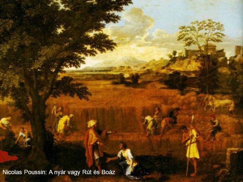 Nicolas Poussin: A nyár vagy Rút és Boáz