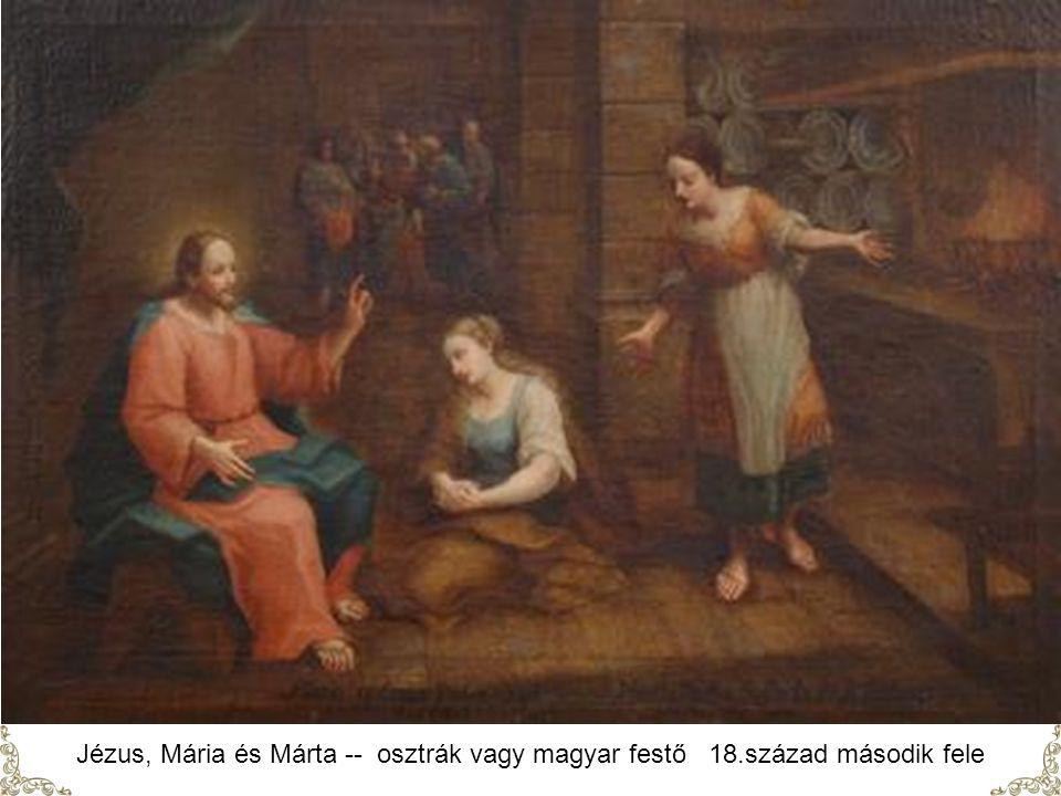 Jézus, Mária és Márta -- osztrák vagy magyar festő 18