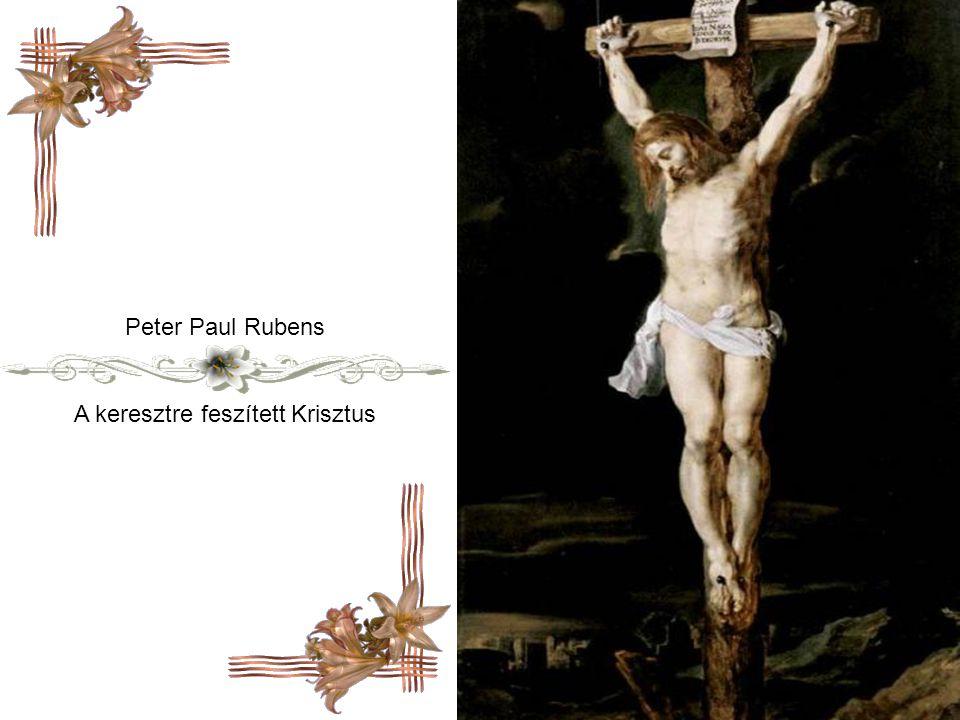 A keresztre feszített Krisztus