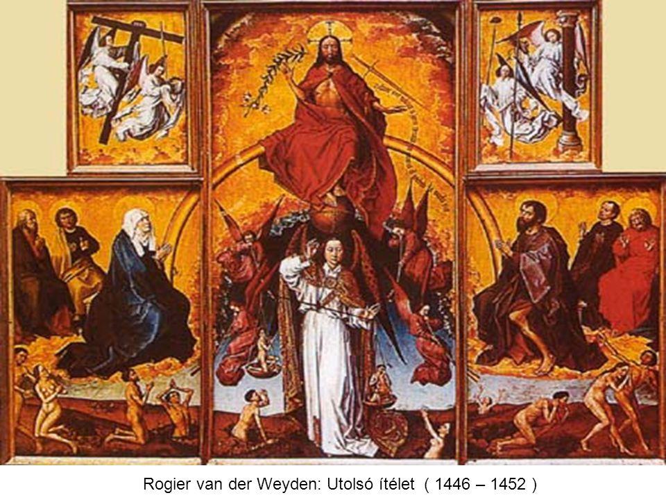 Rogier van der Weyden: Utolsó ítélet ( 1446 – 1452 )
