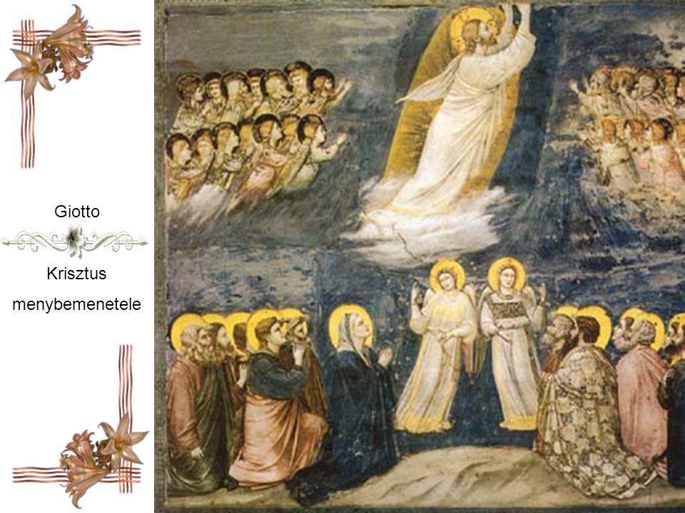 Giotto Krisztus menybemenetele