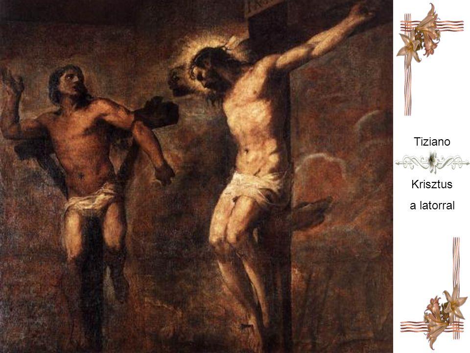 Tiziano Krisztus a latorral