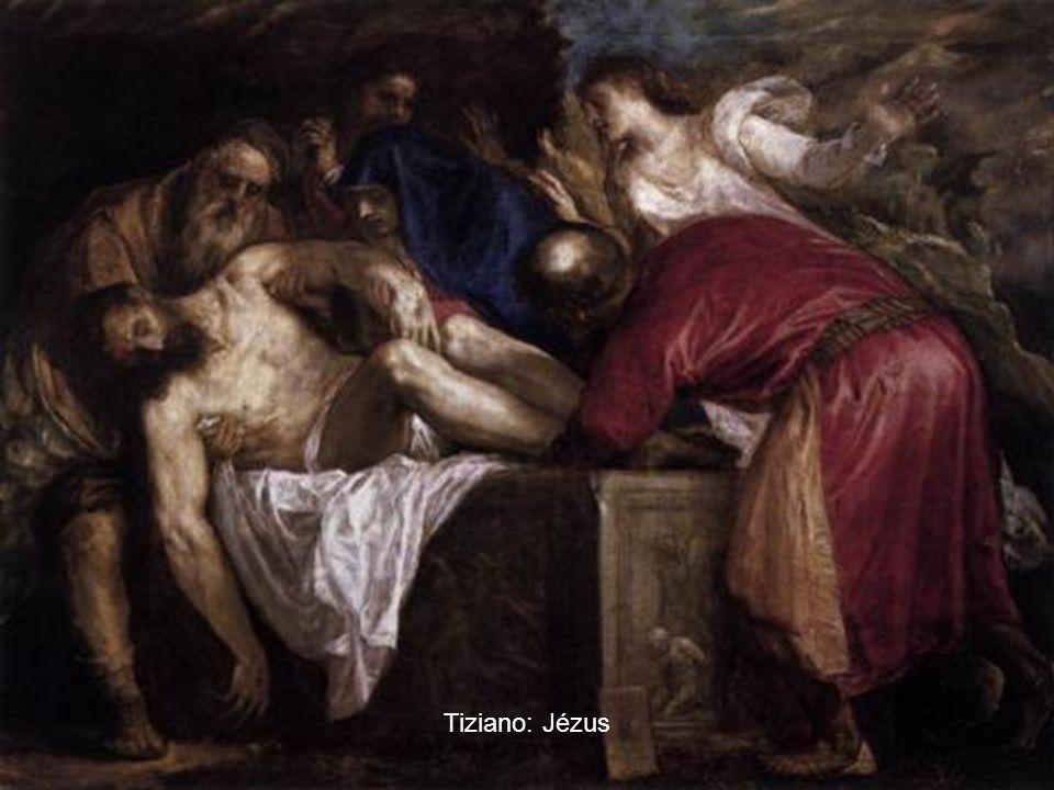 Tiziano: Jézus
