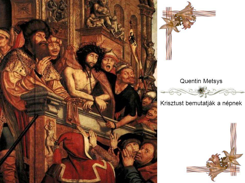 Krisztust bemutatják a népnek