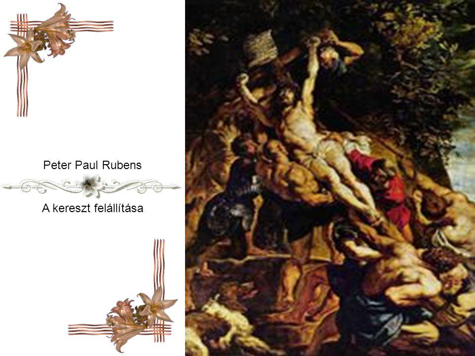 Peter Paul Rubens A kereszt felállítása