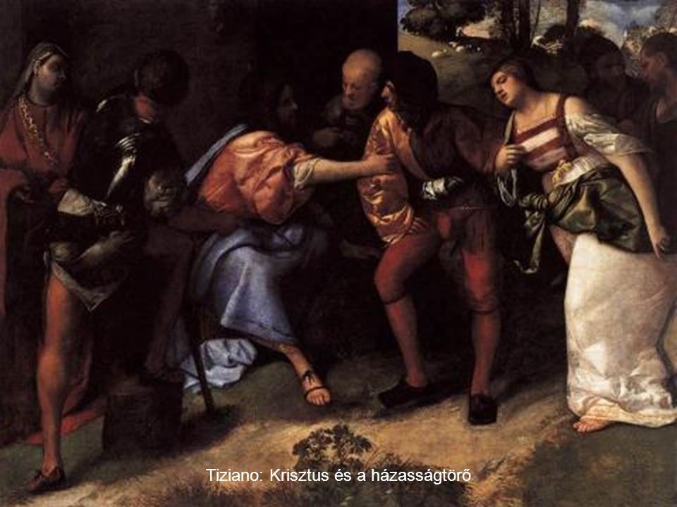 Tiziano: Krisztus és a házasságtörő