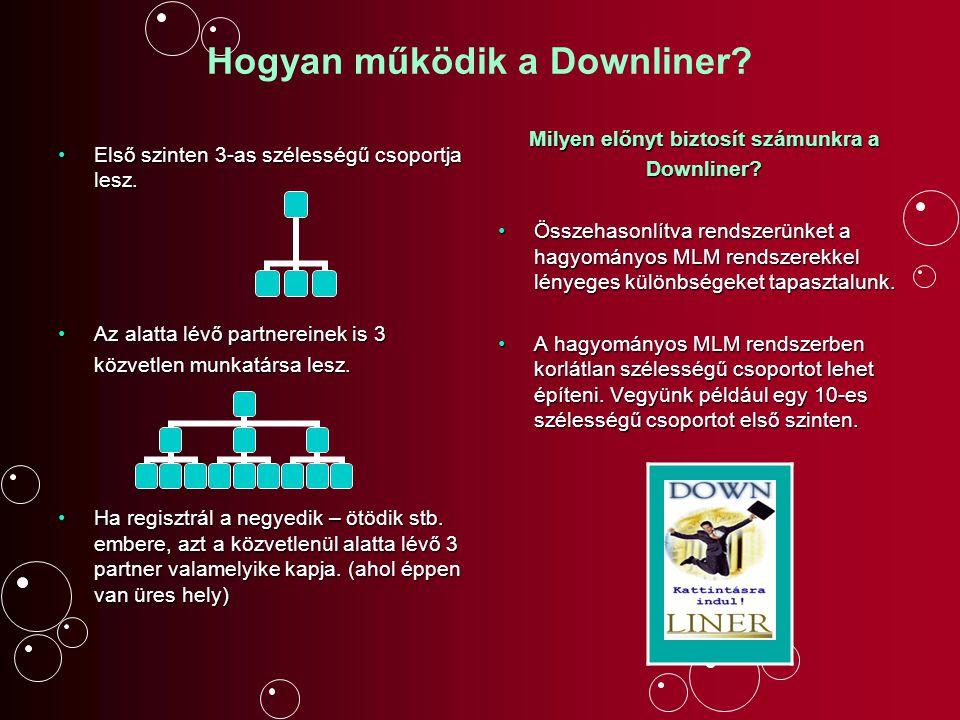 Hogyan működik a Downliner