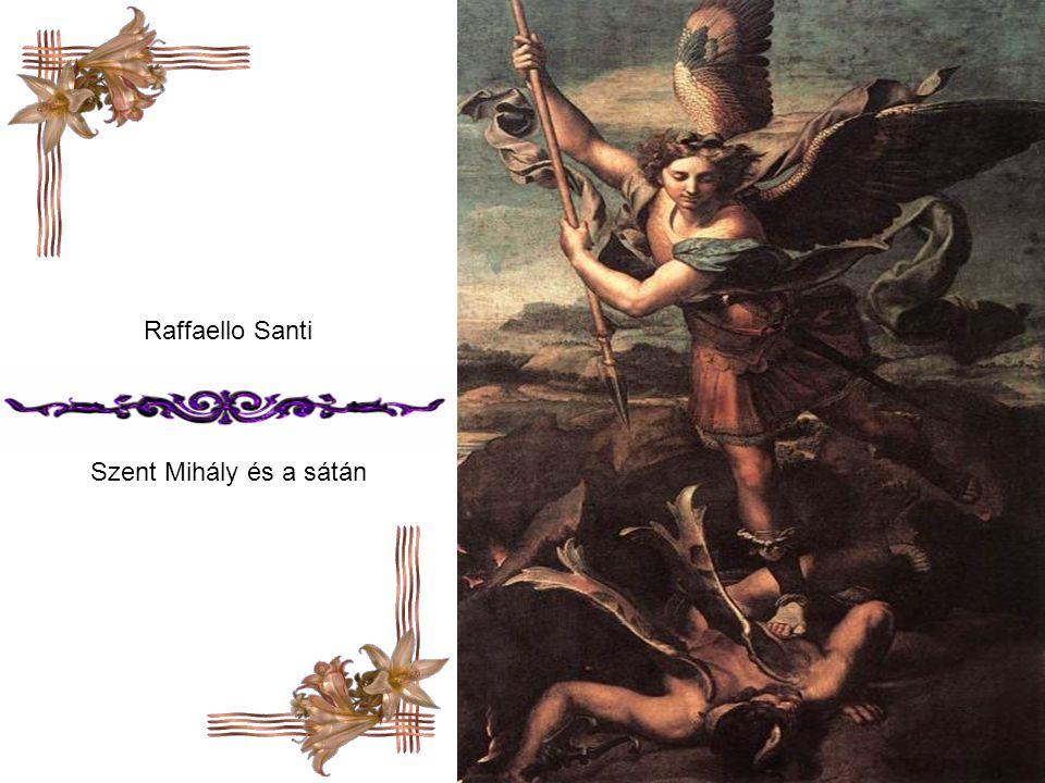 Raffaello Santi Szent Mihály és a sátán