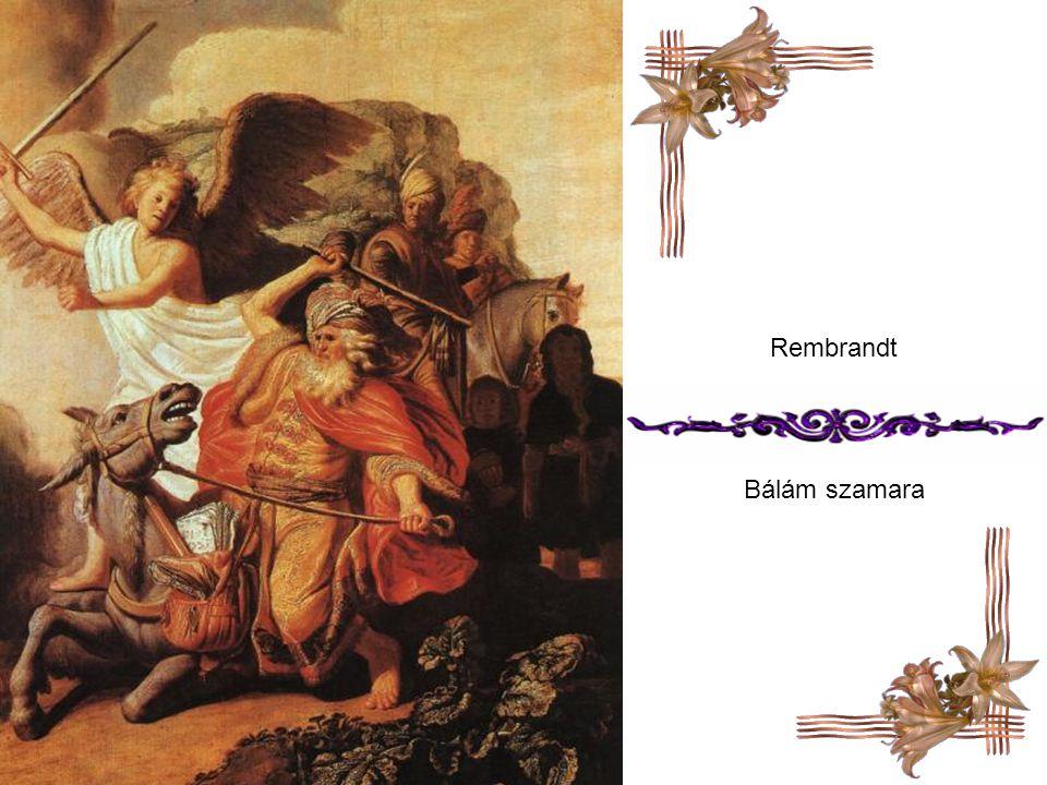 Rembrandt Bálám szamara