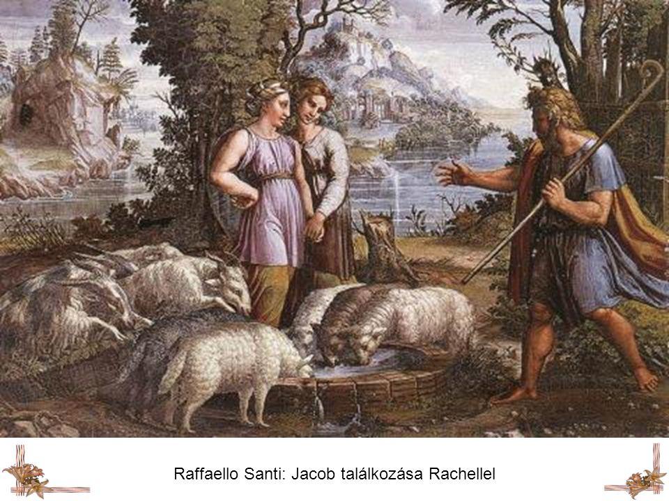 Raffaello Santi: Jacob találkozása Rachellel