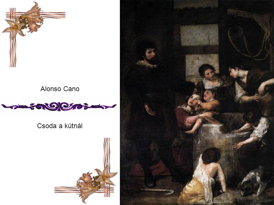 Alonso Cano Csoda a kútnál