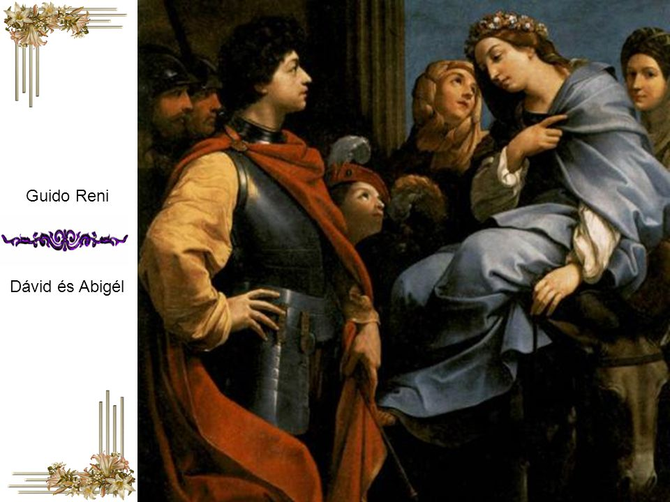Guido Reni Dávid és Abigél