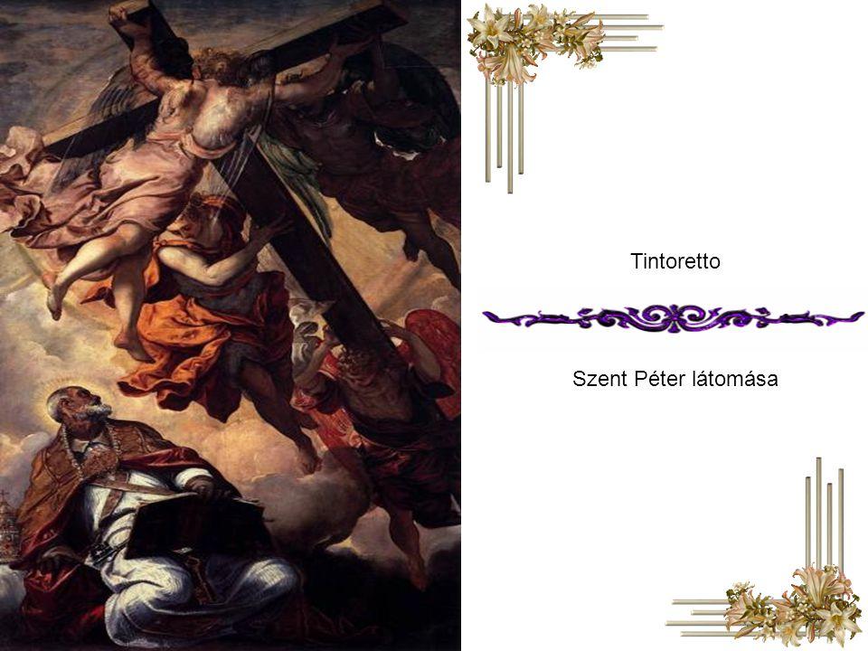 Tintoretto Szent Péter látomása