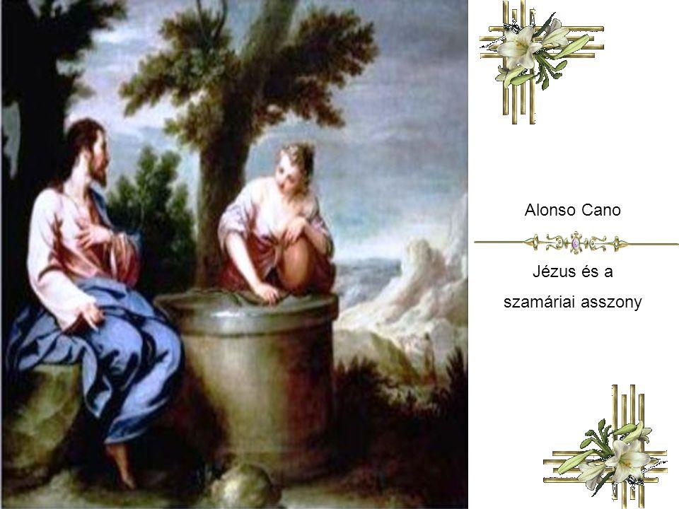Alonso Cano Jézus és a szamáriai asszony