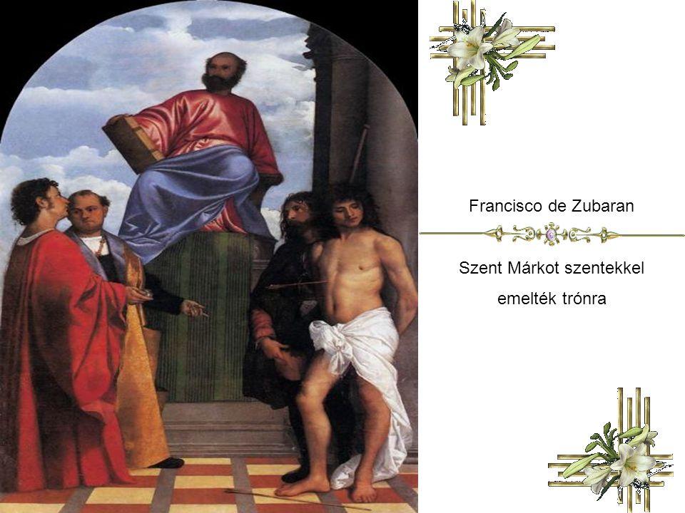Szent Márkot szentekkel