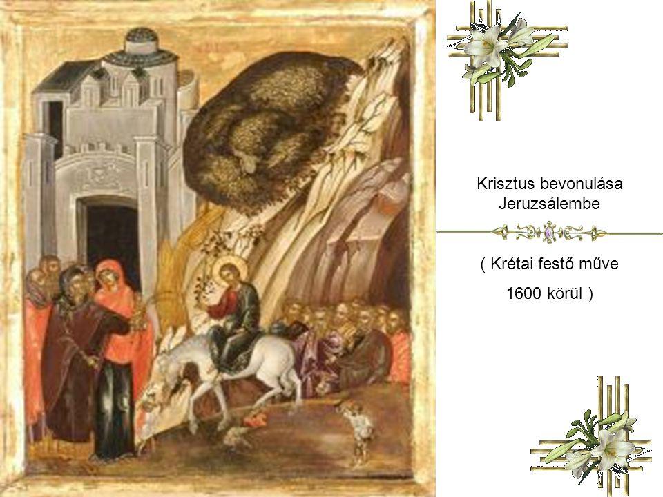 Krisztus bevonulása Jeruzsálembe