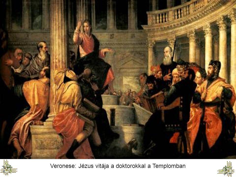 Veronese: Jézus vitája a doktorokkal a Templomban