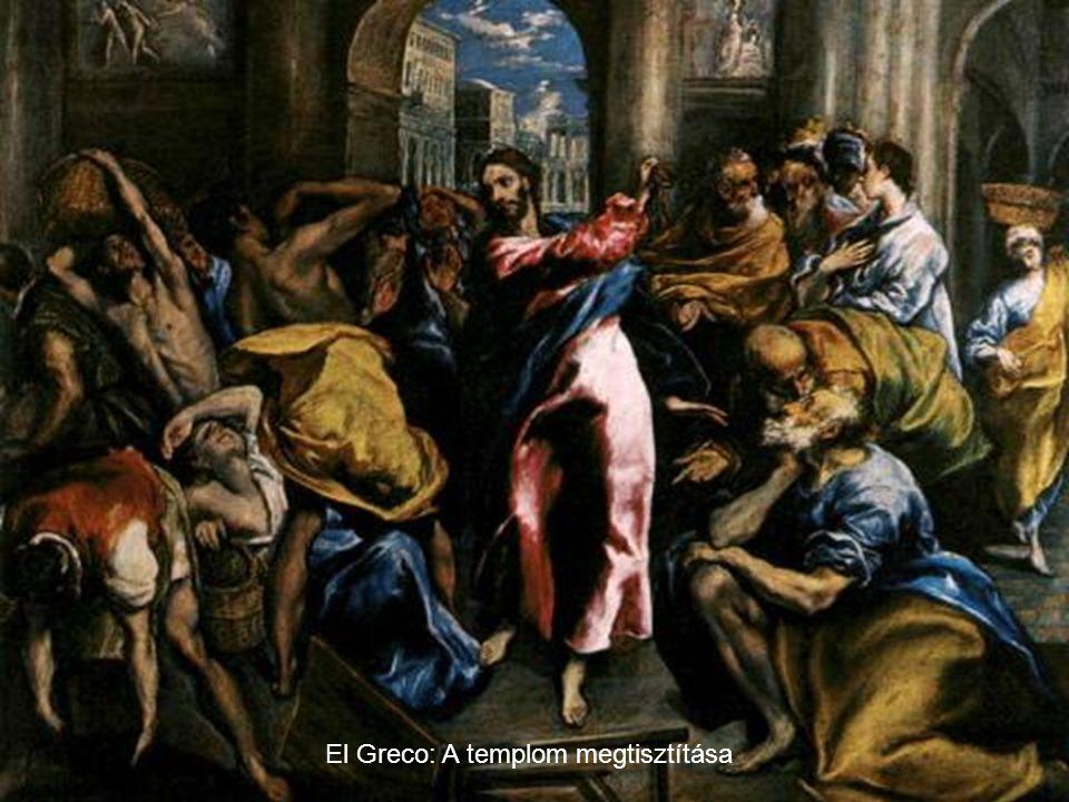 El Greco: A templom megtisztítása