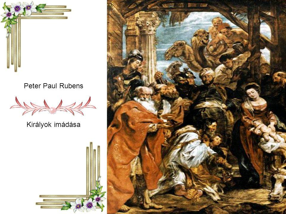 Peter Paul Rubens Királyok imádása