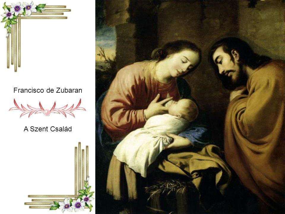 Francisco de Zubaran A Szent Család
