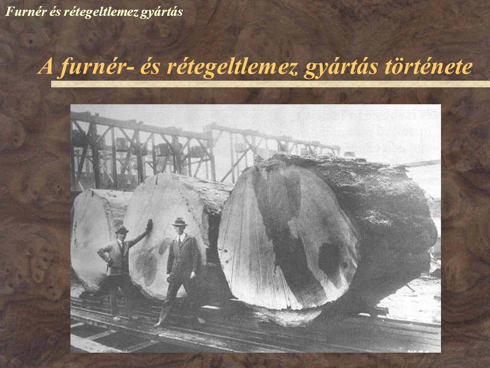A furnér- és rétegeltlemez gyártás története
