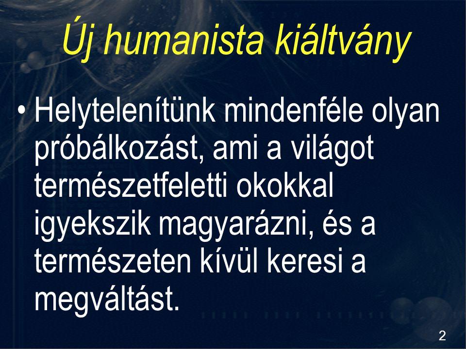 Új humanista kiáltvány
