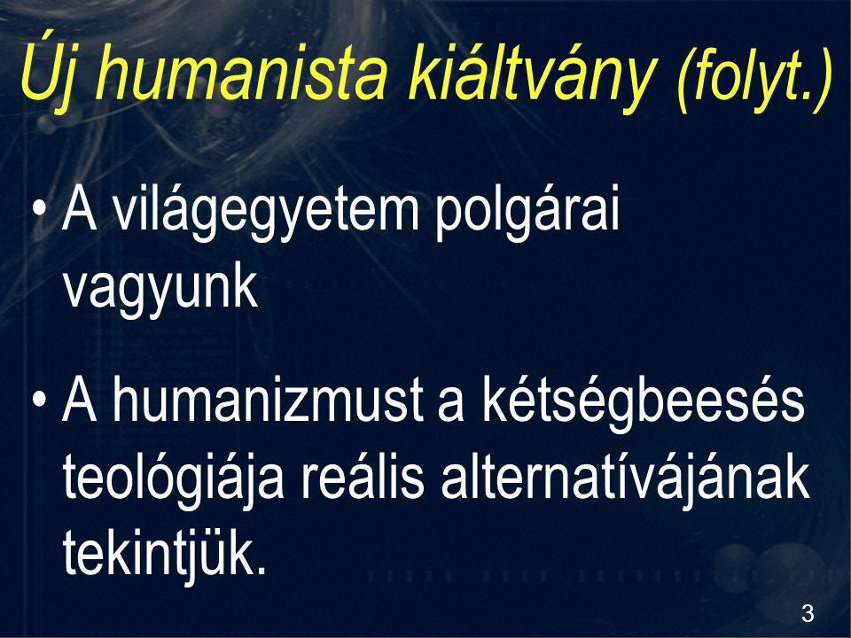 Új humanista kiáltvány (folyt.)