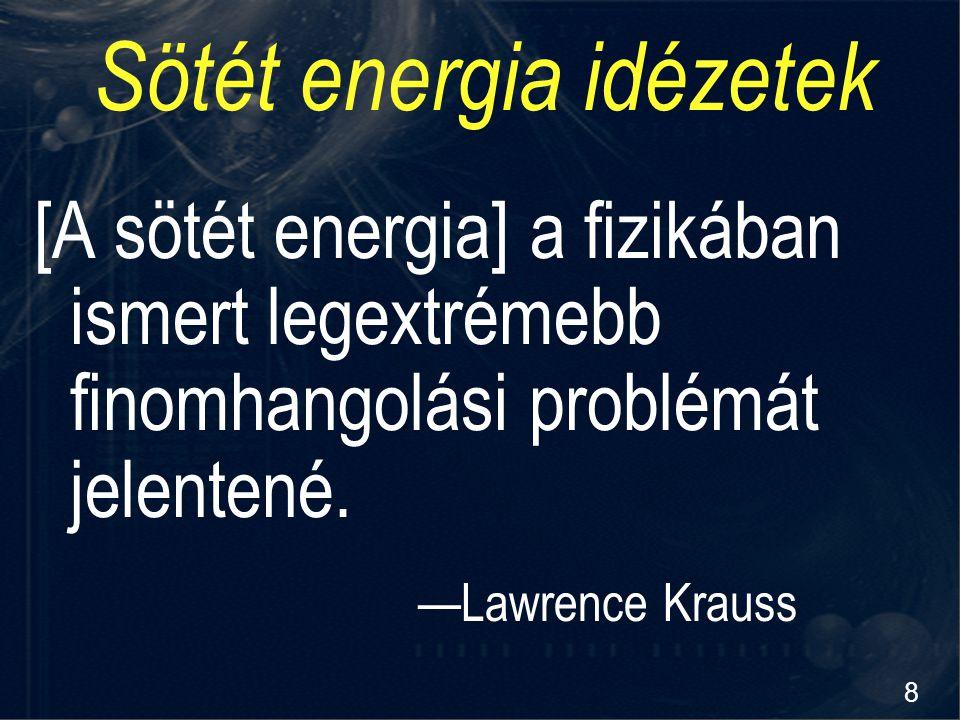 Sötét energia idézetek