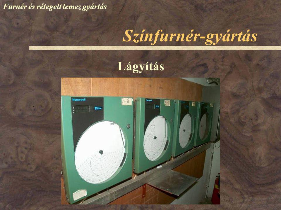 Furnér és rétegelt lemez gyártás