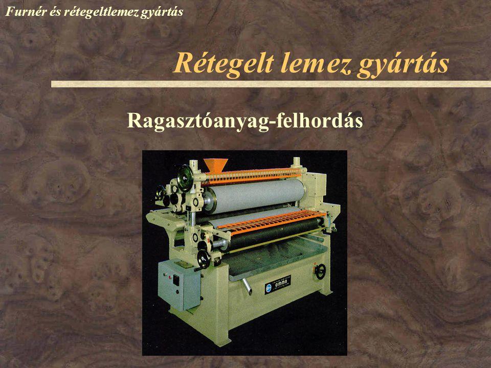 Rétegelt lemez gyártás