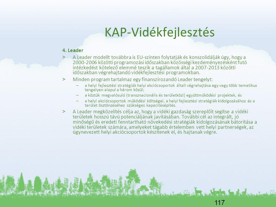 KAP-Vidékfejlesztés 4. Leader