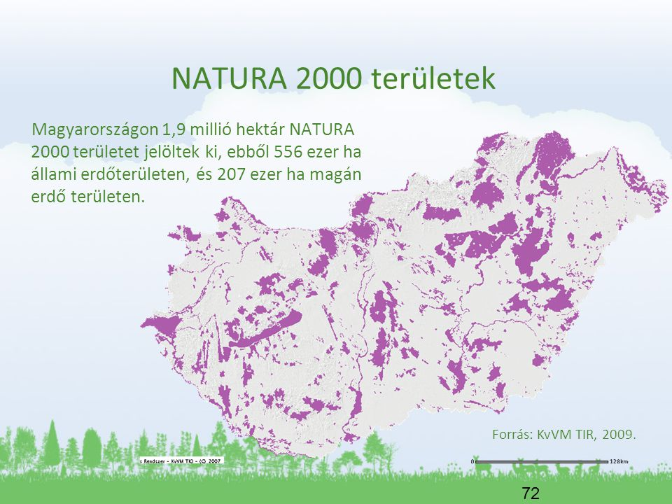NATURA 2000 területek